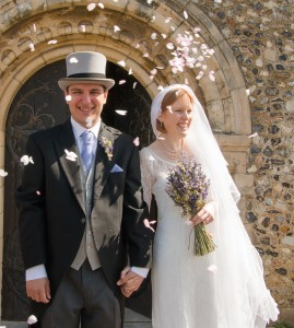 The Wedding of Elizabeth and George. (Photo by Zara Cowdray Photography)
